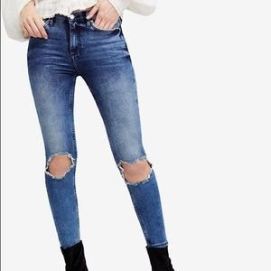 Free People Busted Knee
